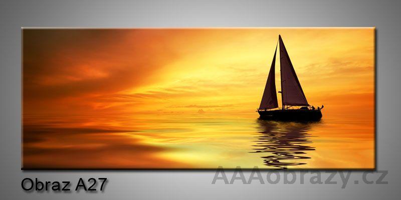 Moderní obraz 1D na plátně 150x70cm Panorama A27