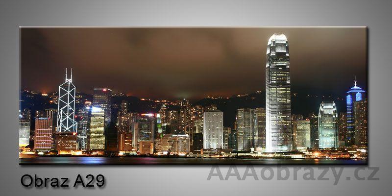 Moderní obraz 1D na plátně 150x70cm Panorama A29