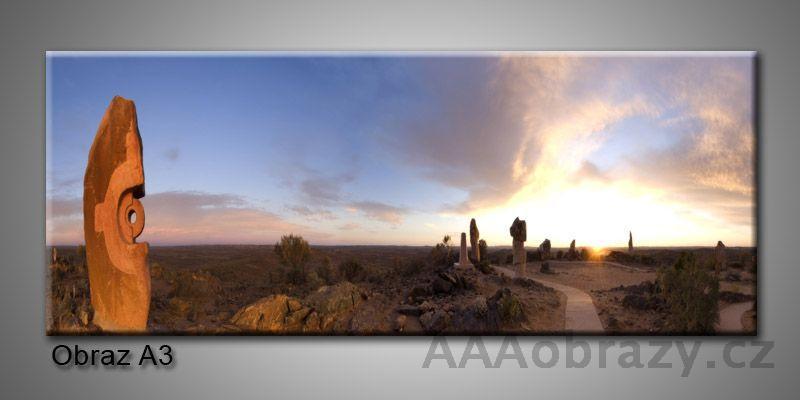 Moderní obraz 1D na plátně 150x70cm Panorama A3