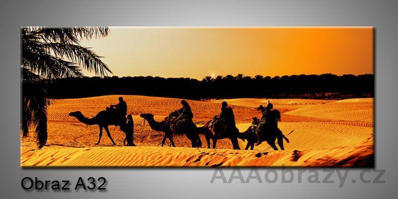 Moderní obraz 1D na plátně 150x70cm Panorama A32