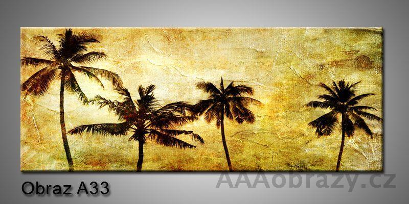 Moderní obraz 1D na plátně 150x70cm Panorama A33