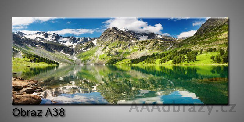 Moderní obraz 1D na plátně 150x70cm Panorama A38
