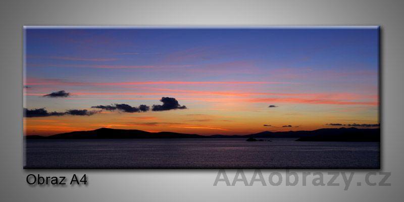 Moderní obraz 1D na plátně 150x70cm Panorama A4