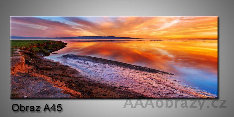Moderní obraz 1D na plátně 150x70cm Panorama A45
