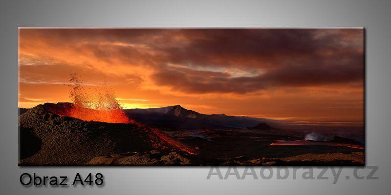 Moderní obraz 1D na plátně 150x70cm Panorama A48