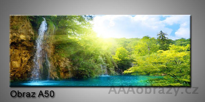 Moderní obraz 1D na plátně 150x70cm Panorama A50