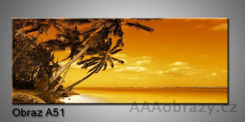 Moderní obraz 1D na plátně 150x70cm Panorama A51