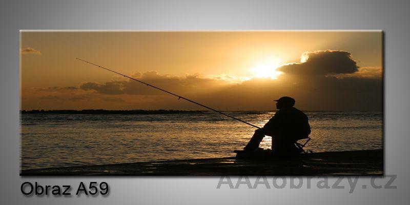 Moderní obraz 1D na plátně 150x70cm Panorama A59