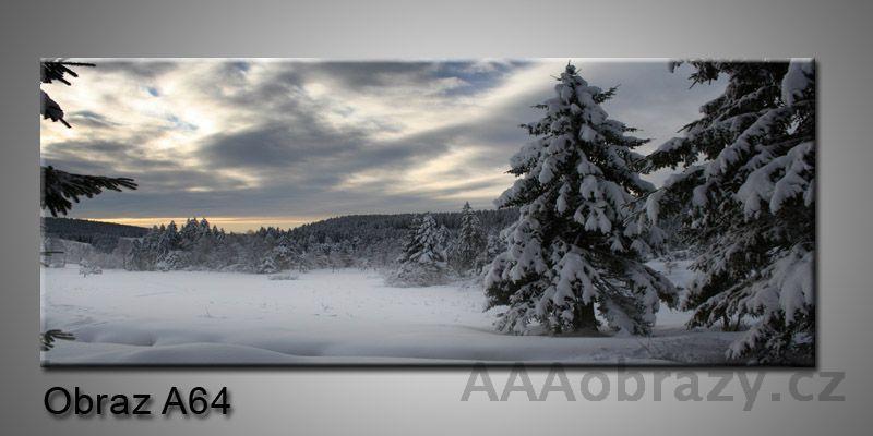 Moderní obraz 1D na plátně 150x70cm Panorama A64