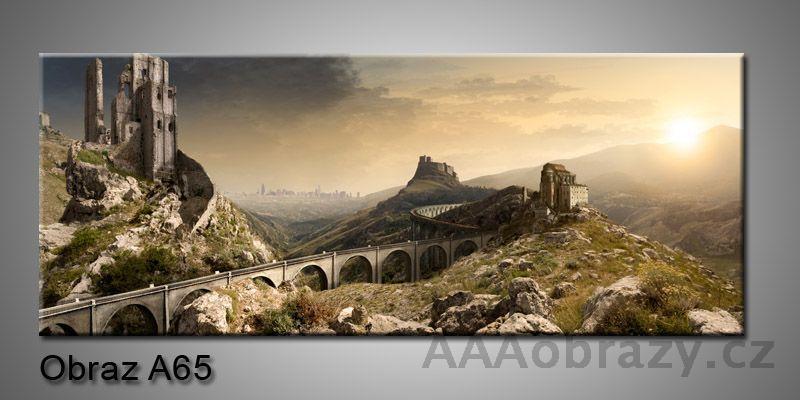 Moderní obraz 1D na plátně 150x70cm Panorama A65