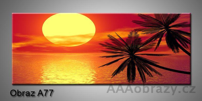 Moderní obraz 1D na plátně 150x70cm Panorama A77