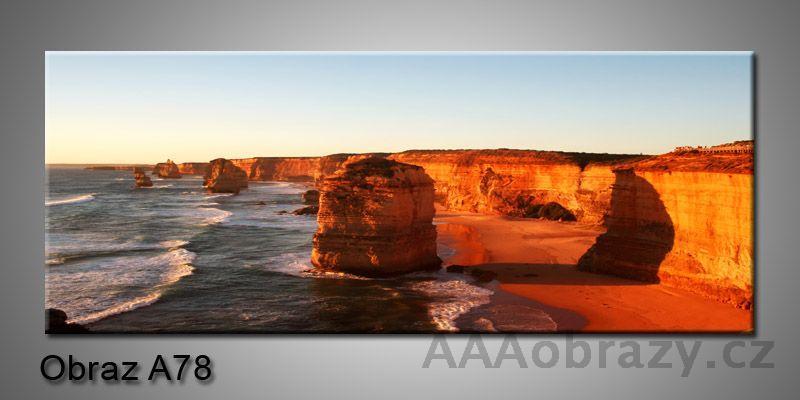 Moderní obraz 1D na plátně 150x70cm Panorama A78
