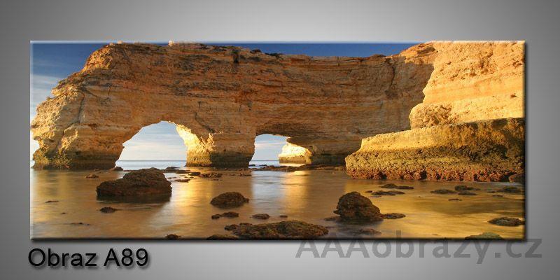 Moderní obraz 1D na plátně 150x70cm Panorama A89