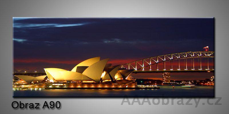 Moderní obraz 1D na plátně 150x70cm Panorama A90