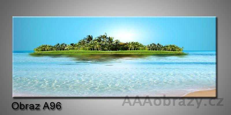 Moderní obraz 1D na plátně 150x70cm Panorama A96