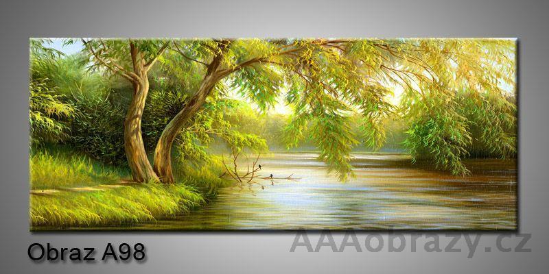 Moderní obraz 1D na plátně 150x70cm Panorama A98