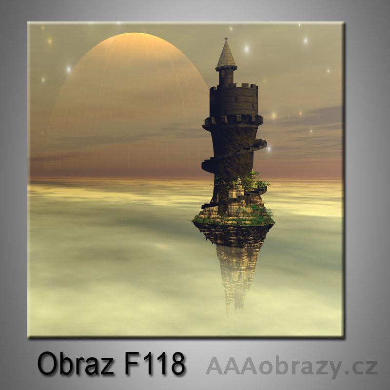 Moderní obraz do bytu 1D 25x25cm F-118