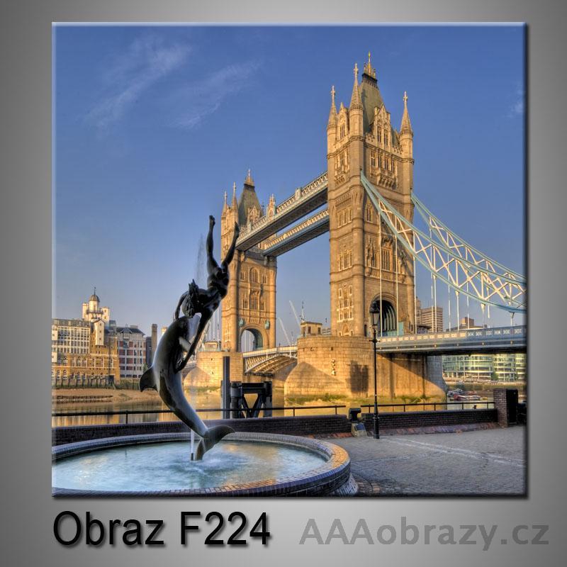 Moderní obraz do bytu 1D 25x25cm F-224