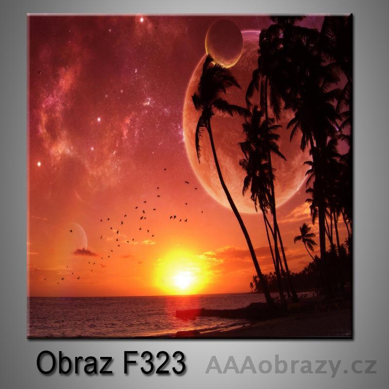 Moderní obraz do bytu 1D 25x25cm F-323