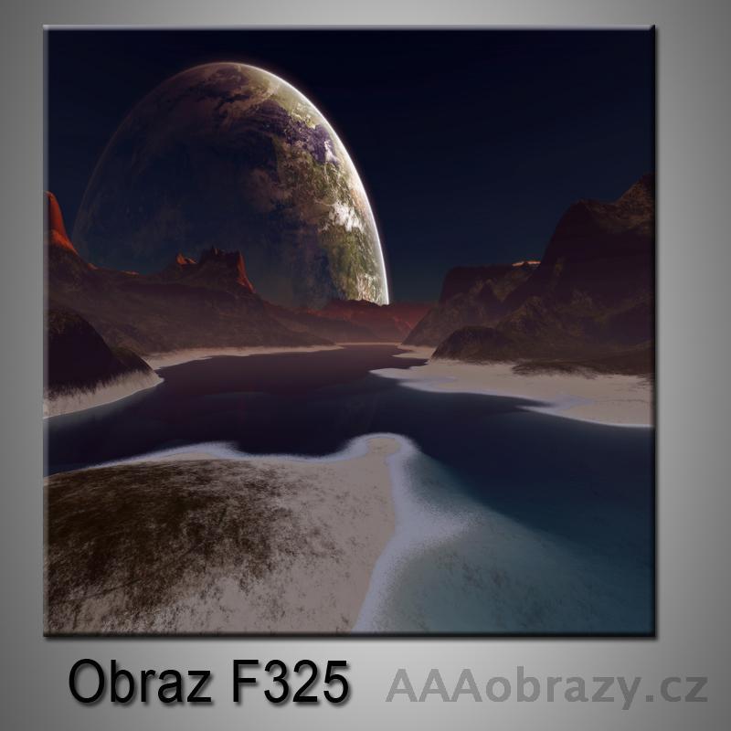 Moderní obraz do bytu 1D 25x25cm F-325