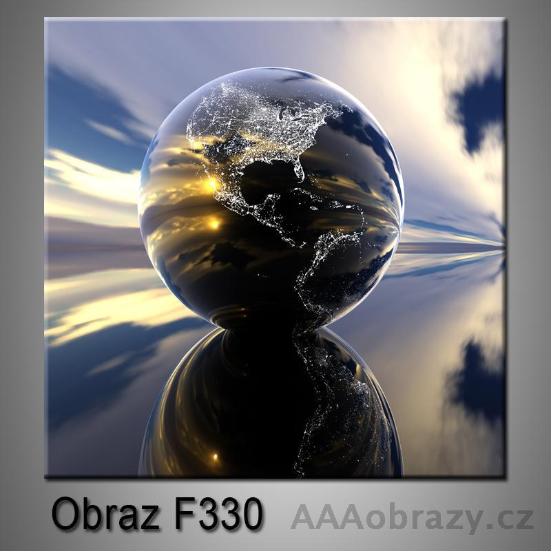 Moderní obraz do bytu 1D 25x25cm F-330