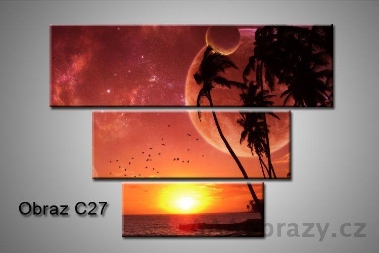 Obraz na plátně 3D100x75cm C27