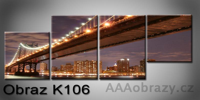 Moderní obraz na plátně 100x35cm K-106