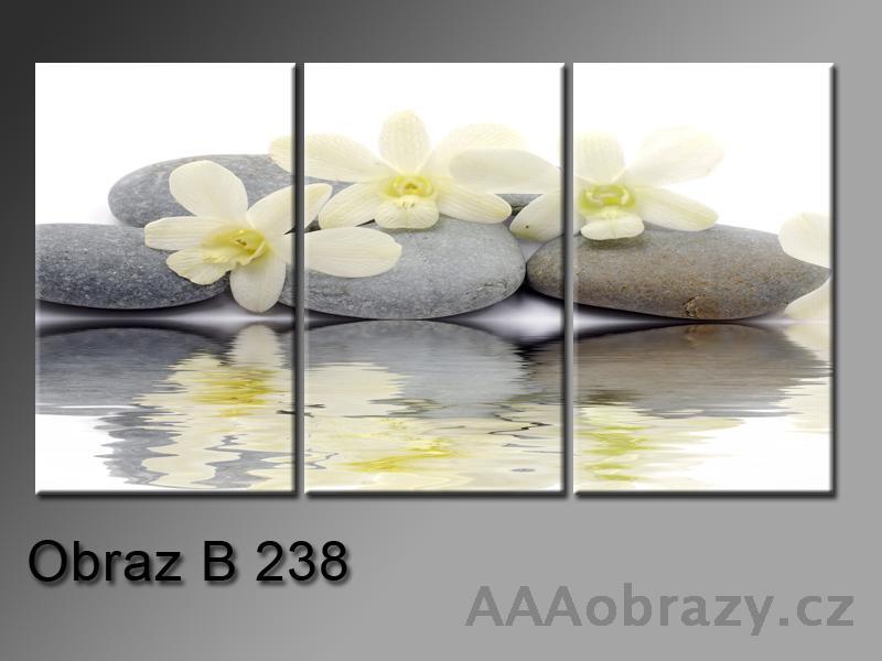 Obraz 3D relaxační kameny 150x100cm vzor 238