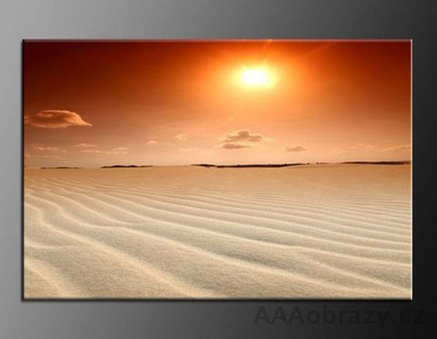 LED obraz 100x70cm vzor 244 západ slunce