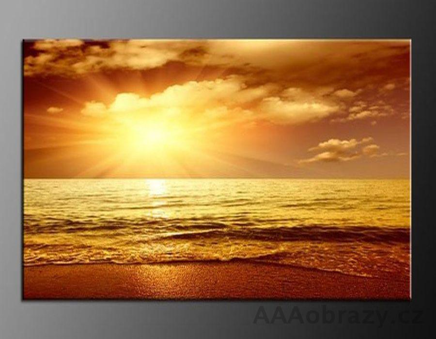 LED obraz 120x80cm vzor 820 západ slunce